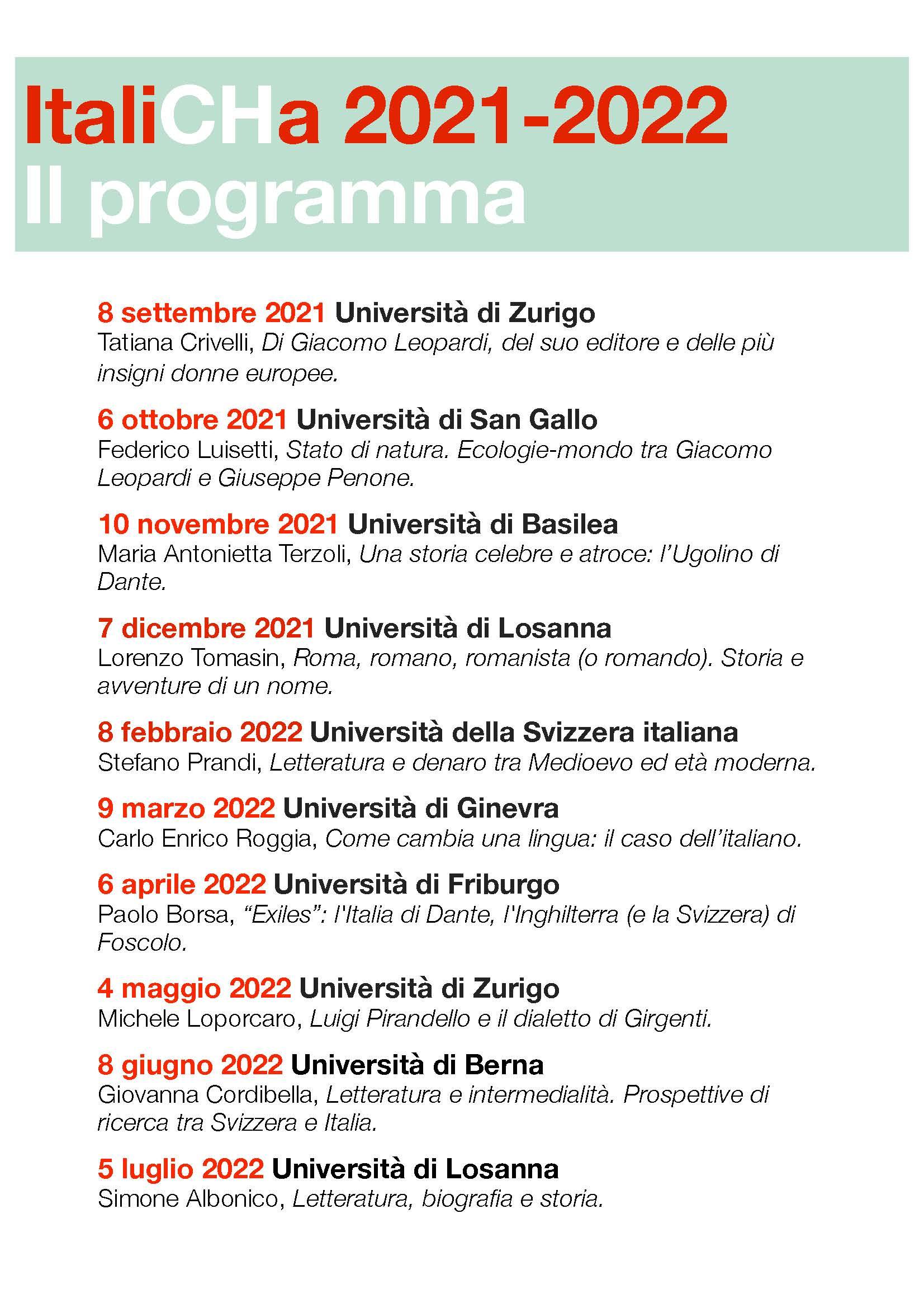 letture pubbliche 21/22 programma