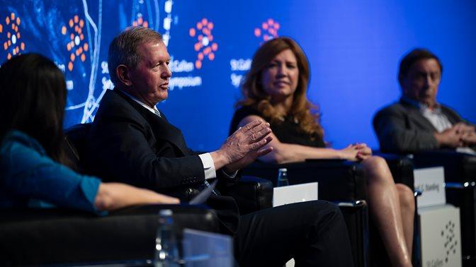 Marcus Wallenberg auf dem St.Gallen Symposium 2018
